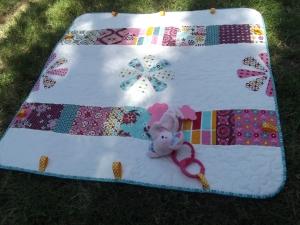 Baby Girl Playmat w/prop
